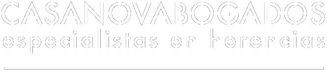 logotipo footer Casanova Abogados Herencias