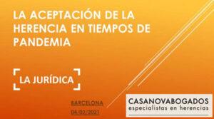 Ponencia La Jurídica, valoración de Ramón Casanova
